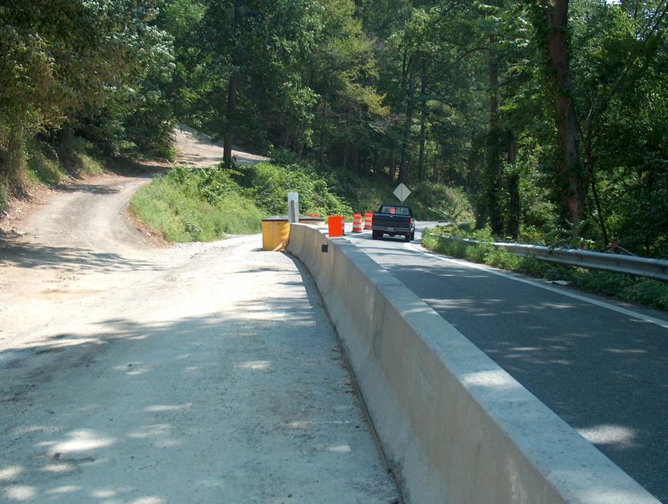 Precast concrete traffic barrier c william hetzer inc
