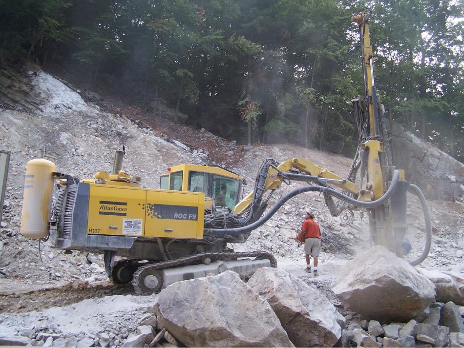 Rock Blasting Equipment : Rock drills c william hetzer inc