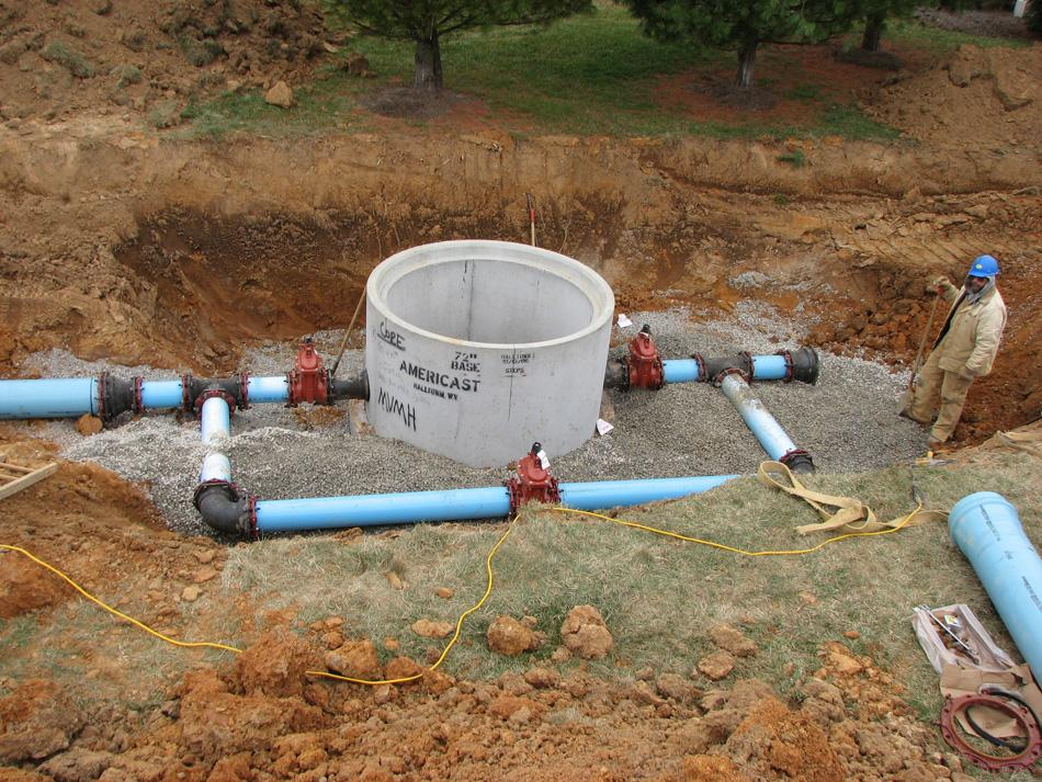 New Interconnection Water Main Amp Storage Tank Replacement