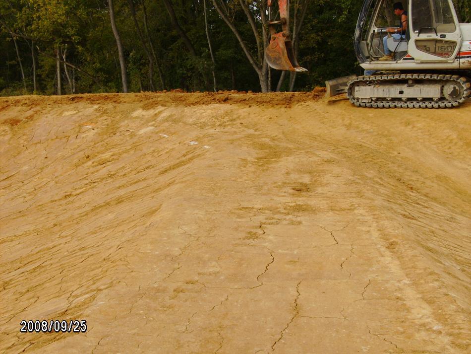 Swm pond liner c william hetzer inc for Pond liner material