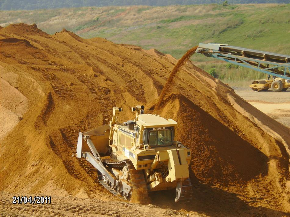 Fly Ash Concrete >> Sanitary Landfill Cells 6 & 7 for Washington County ...