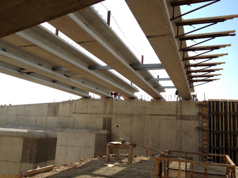 Lake Holiday Dam Concrete Spillway Reconstruction C