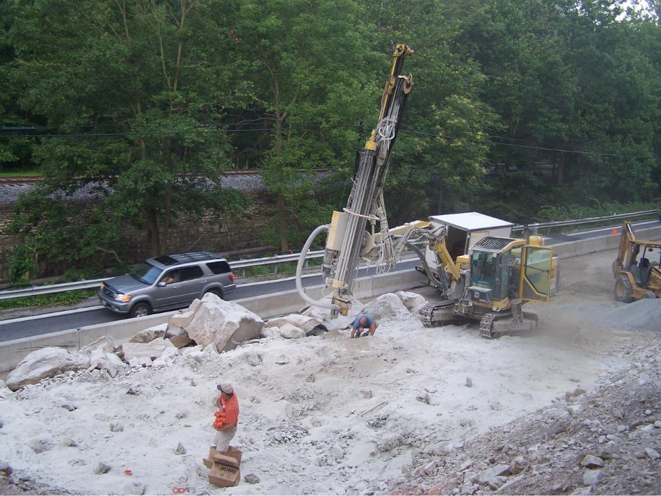 Rock Blasting Equipment : Rock drilling blasting c william hetzer inc
