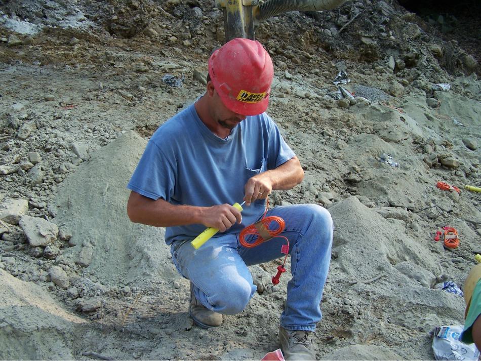 Rock Blasting Safety : Rock drilling blasting c william hetzer inc