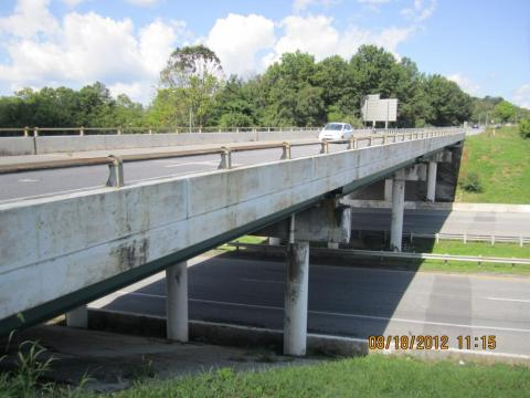 One of the original bridges completed in 1966.