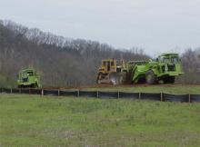 103-Acre Sitework, Utilities, HMA Paving, Landfill Cell, & Ancillary Improvements